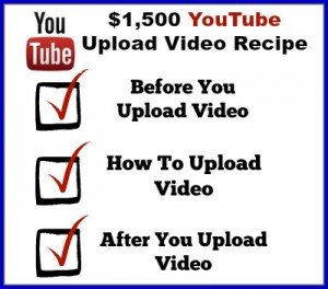 Upload Video to YouTube for Ranking Image