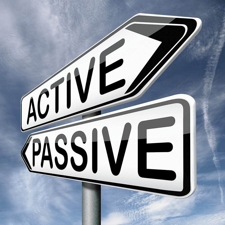 active vs passive marketing