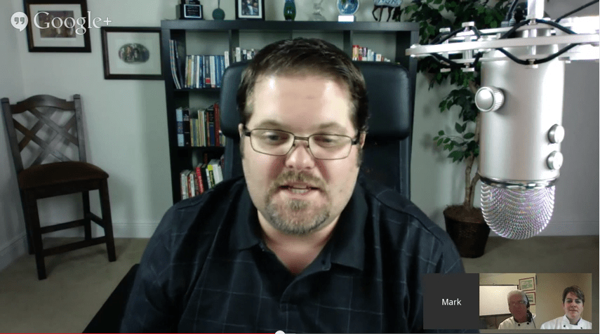 29 Minute Hangout with Mark Harbert