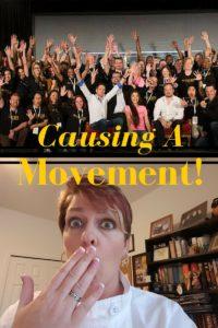 Causing a movement
