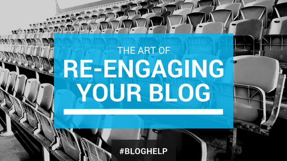 Re-engage blog audience
