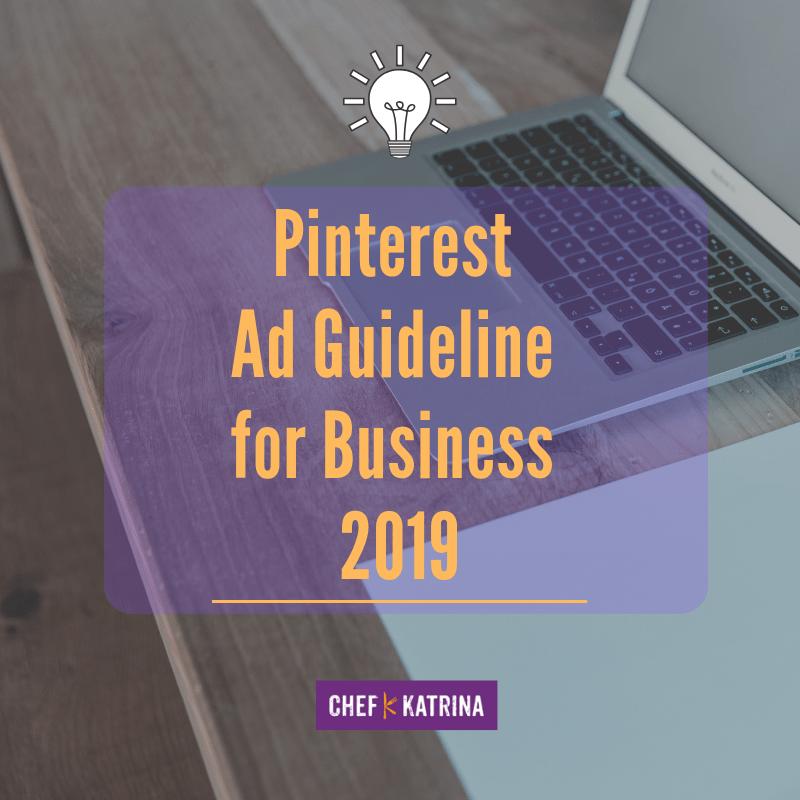 Pinterest Ads Guideline