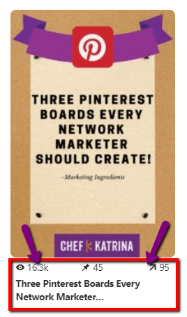 Pinterest Pin image with image description highlighted.