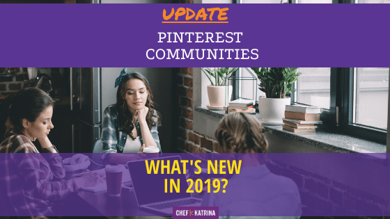 Pinterest Communities for 2019