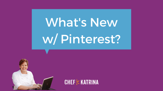 What's new with Pinterest