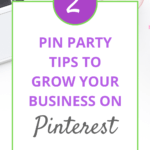 Pinterest Pin Party