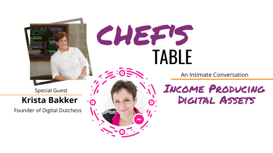 Chef's Table with Krista Bakker