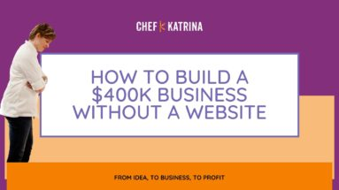 how to build a business without a website