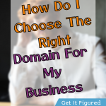 Chef reveals how in her domain secrets, how to choose the right domain for your website.